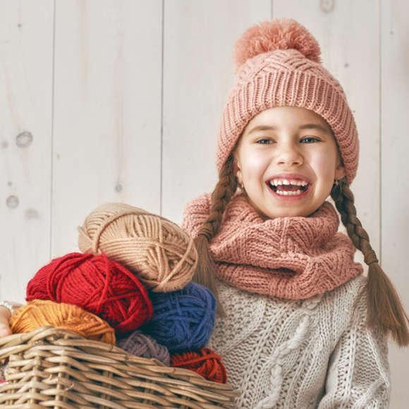 Вязаная одежда для детей