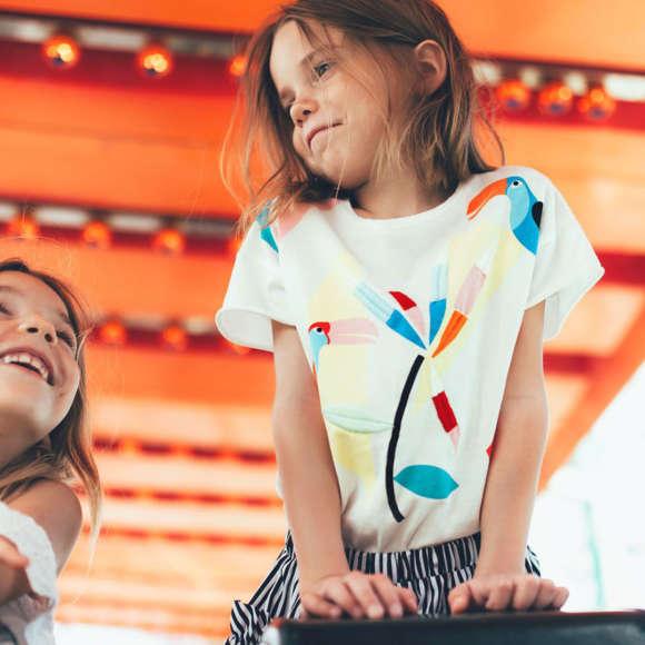 Детская мода Весна 2020 для девочек