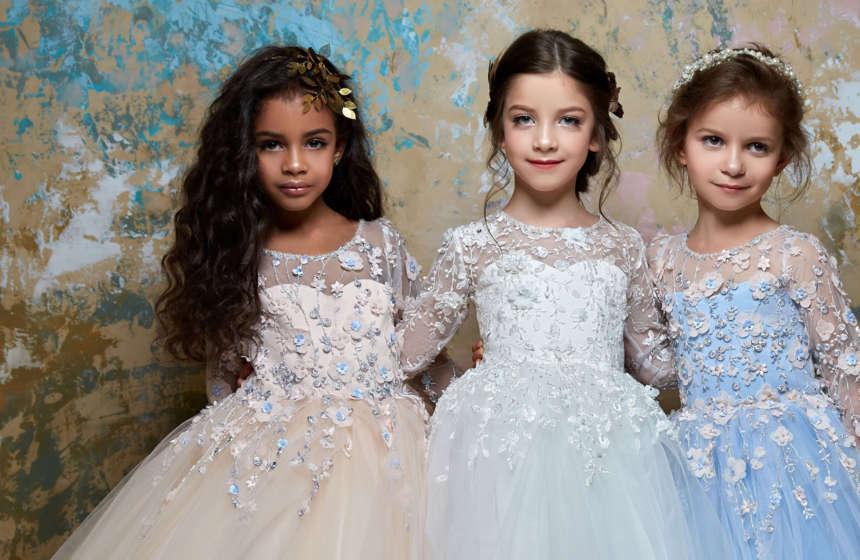 Украшения для платья девочки